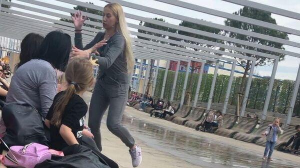Инцидент в парке Краснодар с участием двух мам