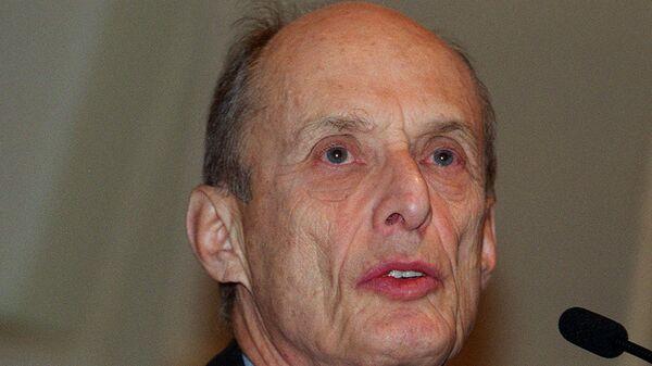 Лауреат Нобелевской премии по физиологии или медицине нейробиолог Пол Грингард
