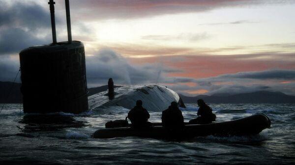 Британская атомная подводная лодка HMS Talent