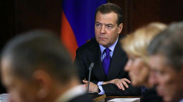 Председатель правительства РФ Дмирй Медведев