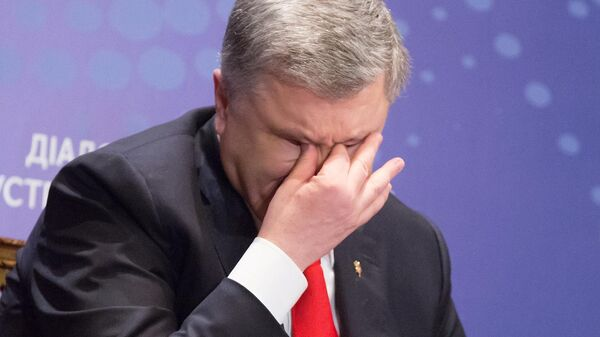 Действующий президент Украины, кандидат в президенты Петр Порошенко