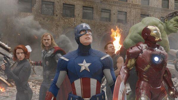 Кадр из фильма Мстители