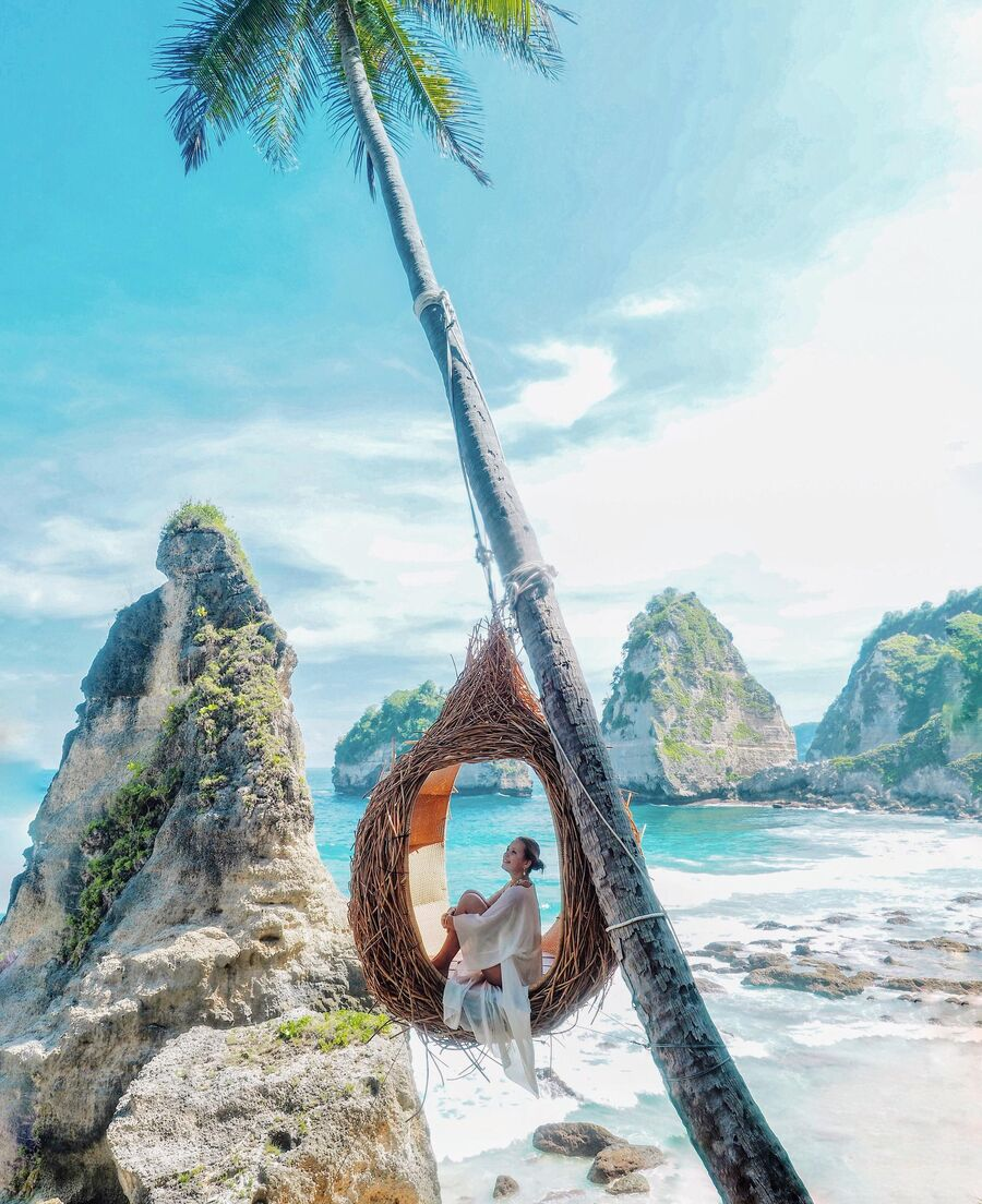Бриллиантовый пляж, Индонезия