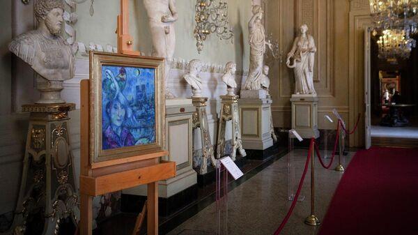 Автопортрет Шагала в галерее Уффици