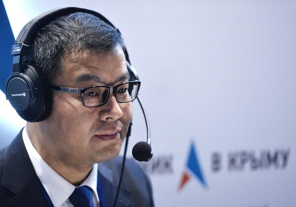 Профессор Института международных исследований Университета Цинхуа У Дахуи (Китай)