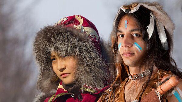 Индеец и сибиряк