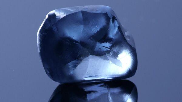 Голубой бриллиант весом более 20 каратов, принадлежащий компании Okavango Diamond Company