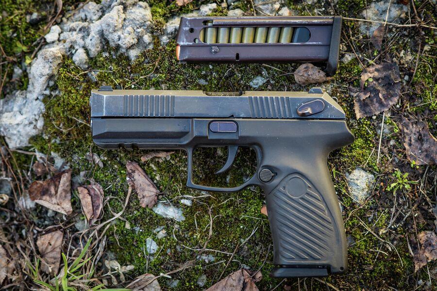 Армейская версия 9х21 мм пистолета Удав