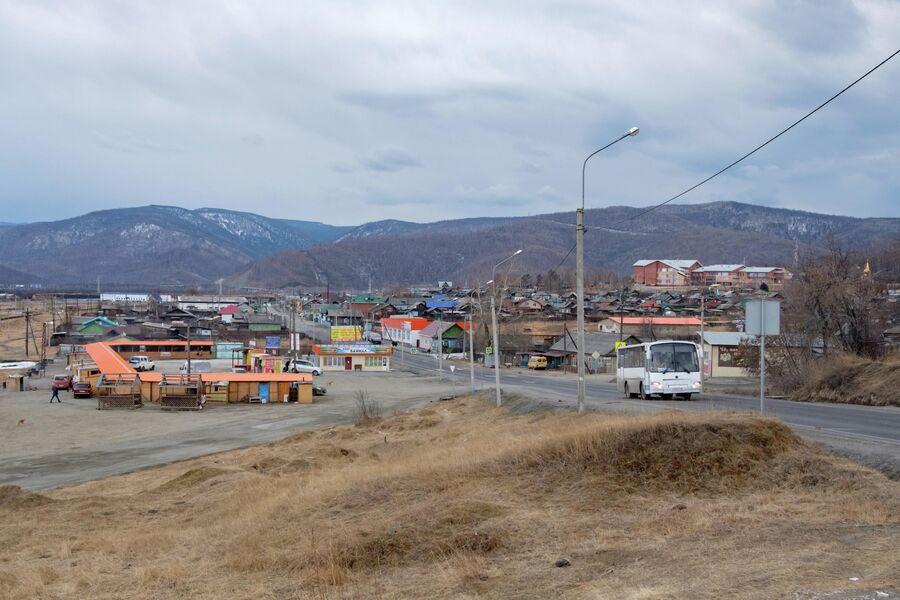 Вид на поселок Култук