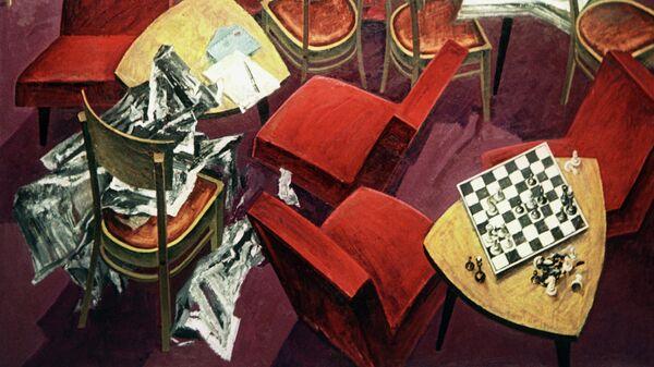 Картина Мая Данцига Тревога из серии Граница