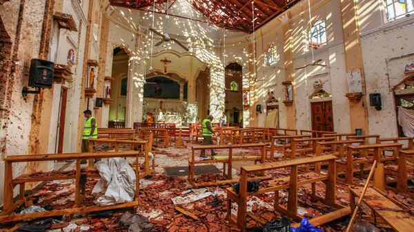ИГ* взяло ответственность за взрывы на Шри-Ланке