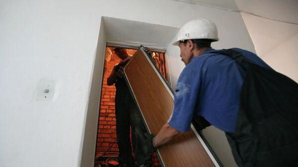 Замена лифтового оборудования в многоэтажном жилом доме
