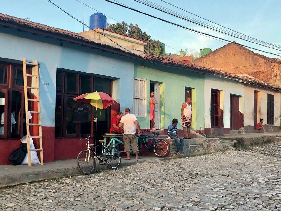Местные жители, Тринидад, Куба
