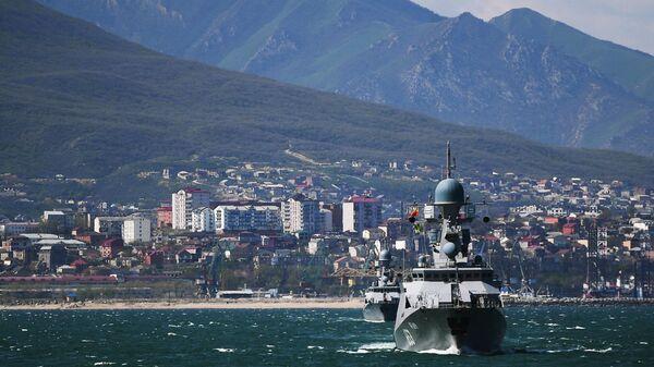 Ударная группа Каспийской флотилии ВМФ России