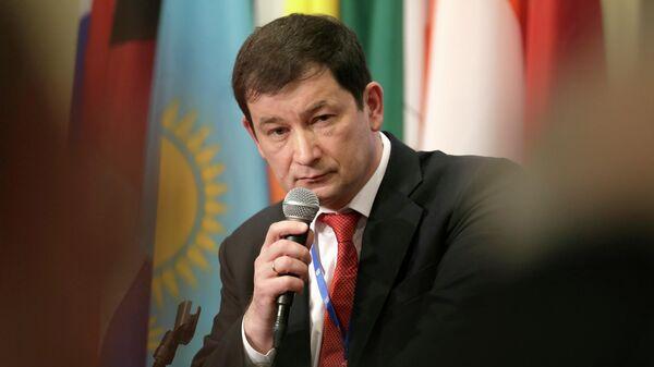 Первый заместитель постоянного представителя РФ при ООН Дмитрий Полянский