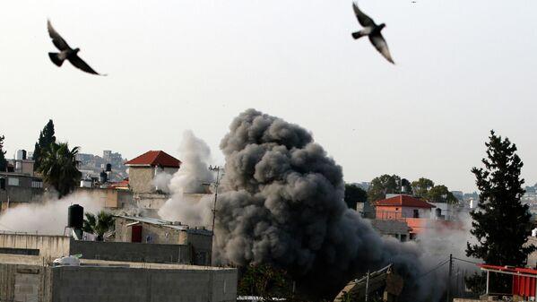 Армия Израиля взорвала дом террориста Омара Абу Лайла на Западном берегу