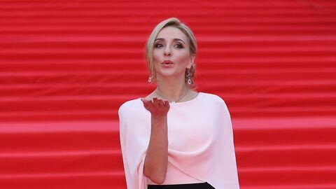 Олимпийская чемпионка по фигурному катанию Татьяна Навка во время церемонии закрытия 41-го ММКФ в Москве