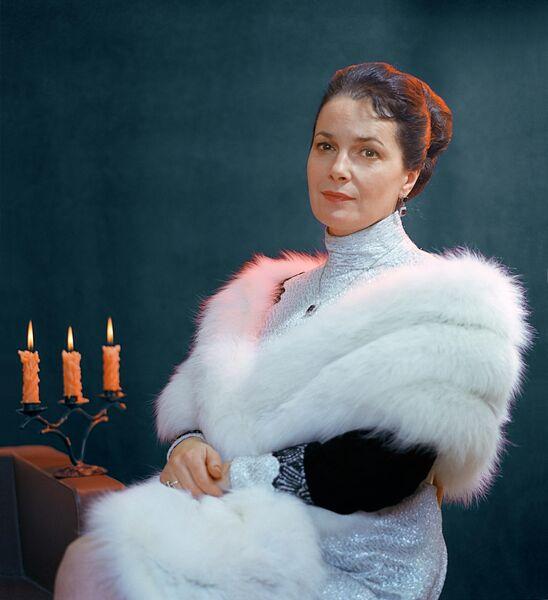 Элина Быстрицкая, народная артистка РСФСР