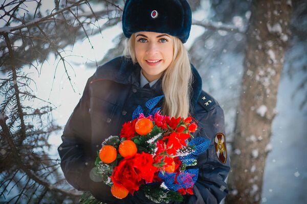 Старший лейтенант полиции Фарафонова Светлана, г. Саратов