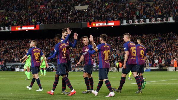 Футболисты Барселоны