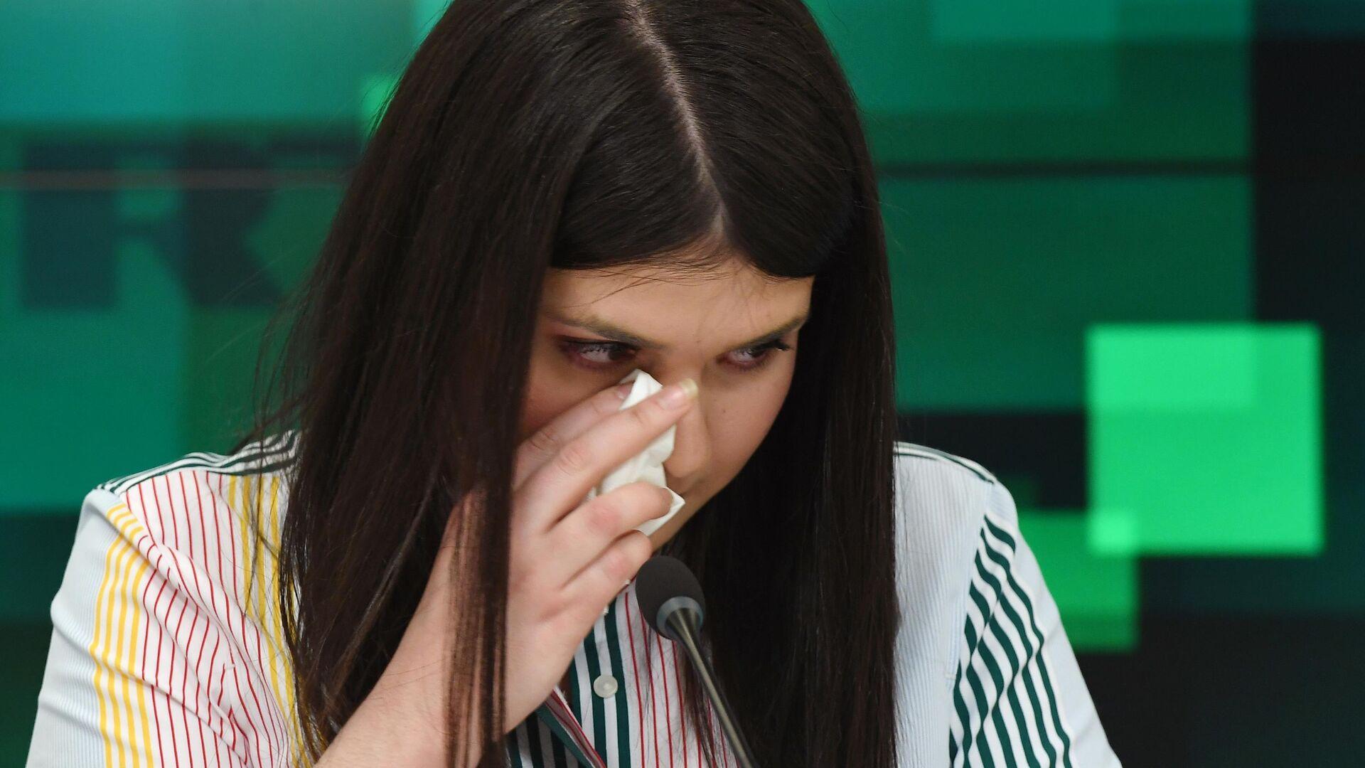 Варвара Караулова во время пресс-конференции в МИА Россия сегодня - РИА Новости, 1920, 30.04.2019