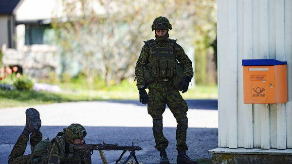 Штормовое предупреждение. В Эстонии начались крупнейшие учения НАТО