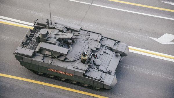 Боевая машина поддержки танков (БМПТ) Терминатор