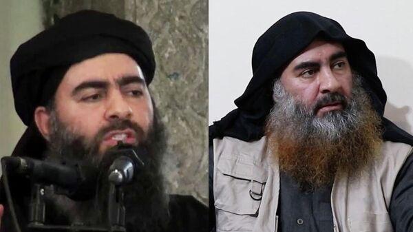 Лидер Исламского государства* Абу Бакр аль-Багдади в 2014 и в 2019