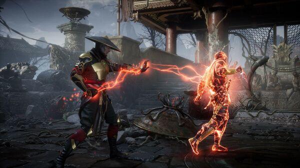 Скриншот игры Mortal Kombat 11