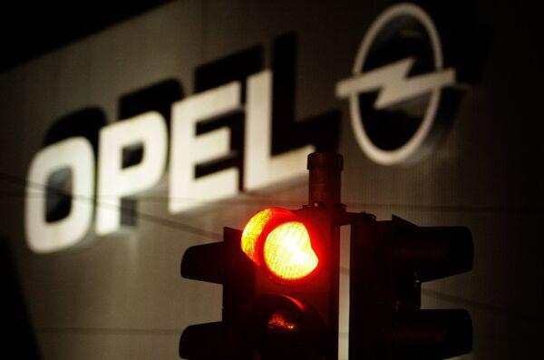 Завод Opel в Германии