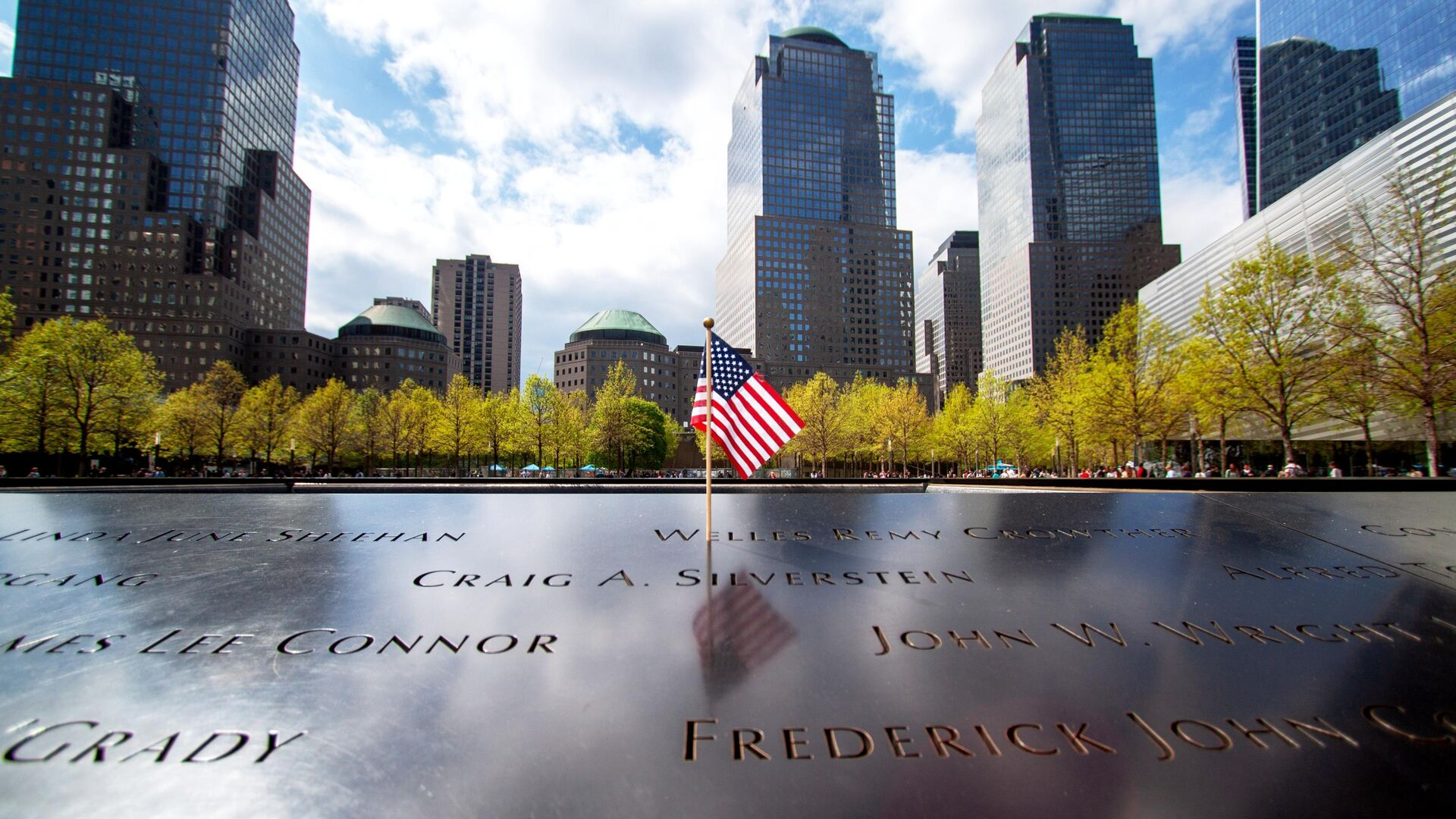 Национальный мемориал и музей 11 сентября в Нью-Йорке - РИА Новости, 1920, 11.09.2021