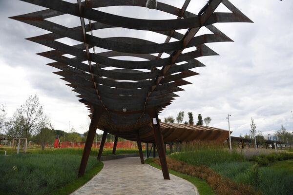 Парк Тюфелева роща в Москве