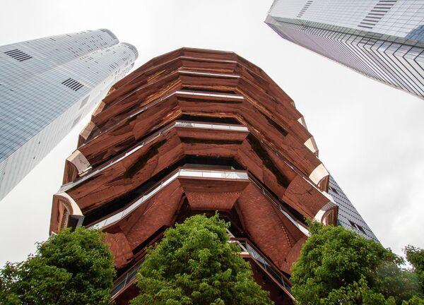 Общественное пространство Vessel в нью-йоркском Хадсон-Ярдс