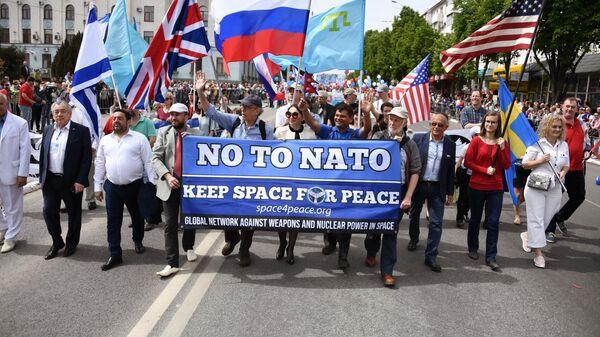 Опять номер 5. НАТО 9-го мая применит пятую статью. Понарошку