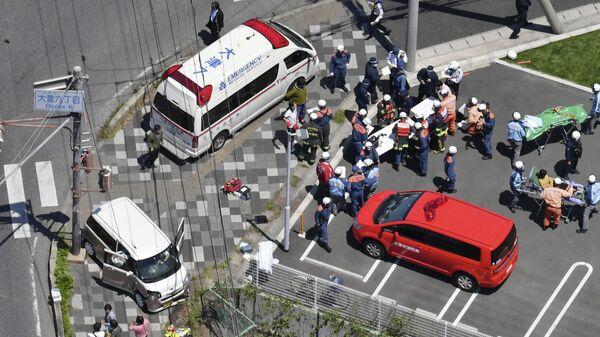 ДТП в Оцу, Япония. 8 мая 2019