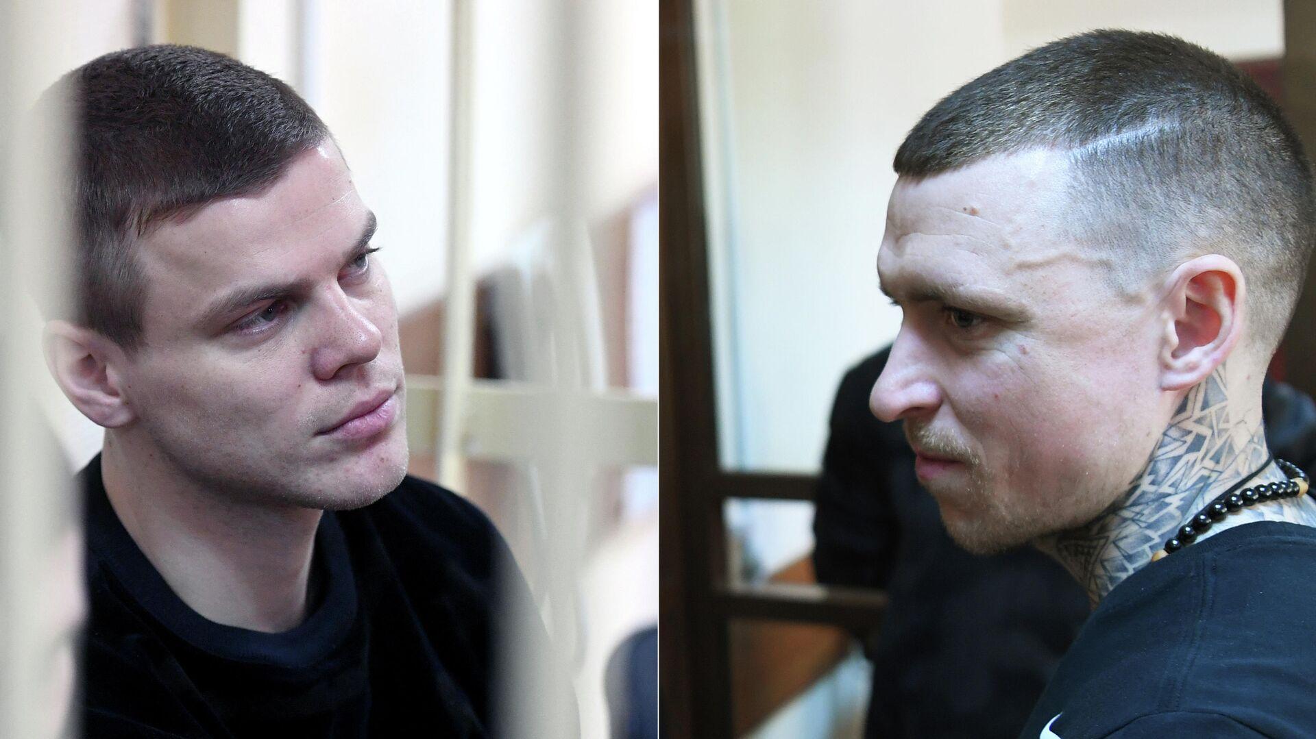 Футболисты Александр Кокорин и Павел Мамаев в суде - РИА Новости, 1920, 03.06.2021
