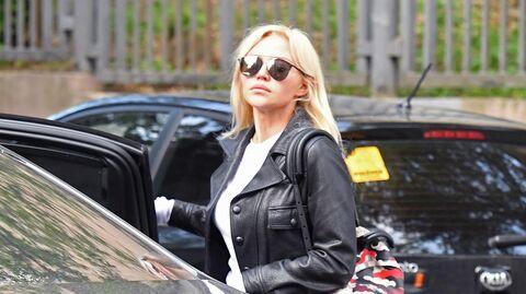 Супруга футболиста Александра Кокорина, признанного виновным  в хулиганстве и побоях, Дарья Валитова после оглашения приговора в Пресненском суде