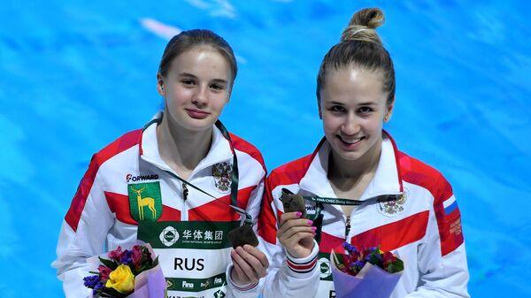 Екатерина Беляева и Юлия Тимошинина