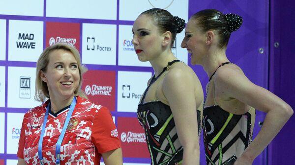 Светлана Ромашина, Светлана Колесниченко и Татьяна Данченко