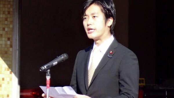 Депутат нижней палаты парламента Японии от партии Иссин но кай Ходака Маруяма