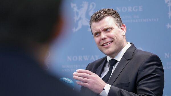 Министр юстиции Норвегии Йоран Каллмюр