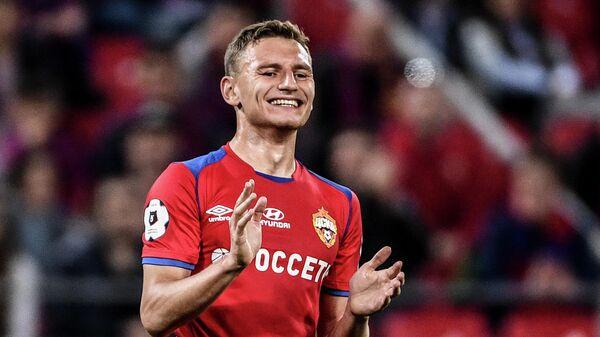 Форвард ЦСКА Фёдор Чалов