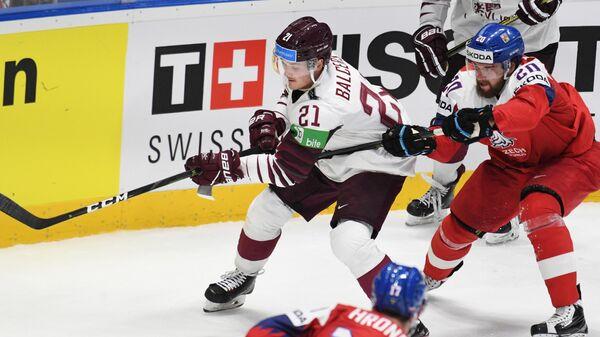 Чемпионат мира по хоккею. Чехия - Латвия