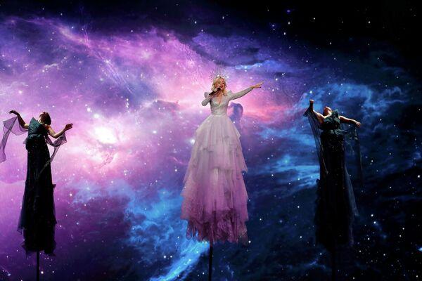 Певица Кейт Миллер-Хайдке (Австралия) в финале международного конкурса Евровидение-2019