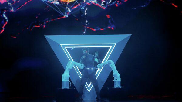 Певец Чингиз (Азербайджан) в финале международного конкурса Евровидение-2019