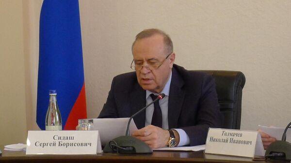 Заместитель губернатора ростовской области Сергей Сидаш