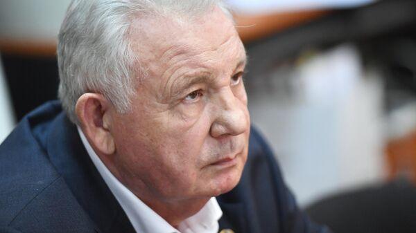 Экс-губернатор Хабаровского края Виктор Ишаев в Басманном суде Москвы. 21 мая 2019