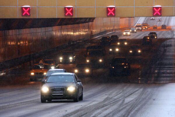 Тоннель на Ленинградском проспекте