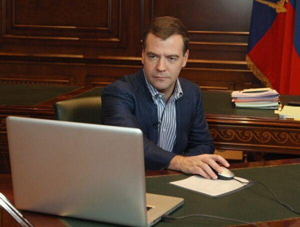 Блог Медведева появится в ЖЖ