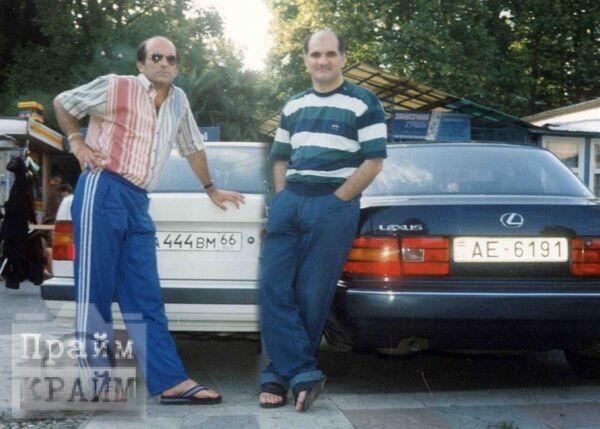 Каро и Мирон Мамедовы, 1995 год, Сочи